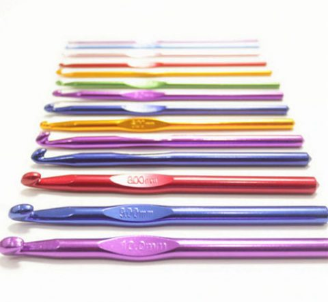 Инструменты для вязания крючком