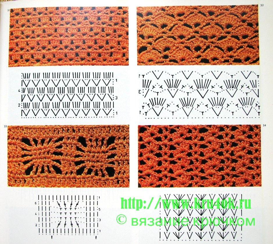 Вязание спицами узоры схемы с описанием схем для детей 29