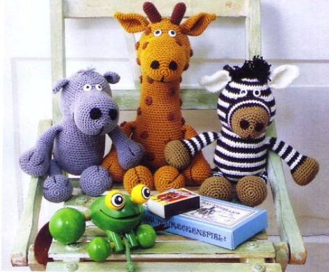 Схемы вязания игрушек