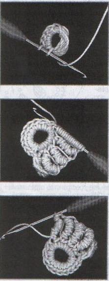 салфетка в технике ирландское кружево