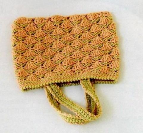 вязаная крючком сумка 7