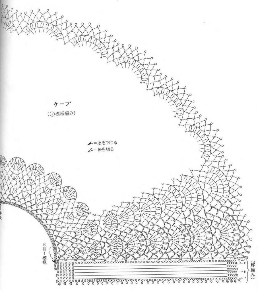 схема 3 к накидке 2