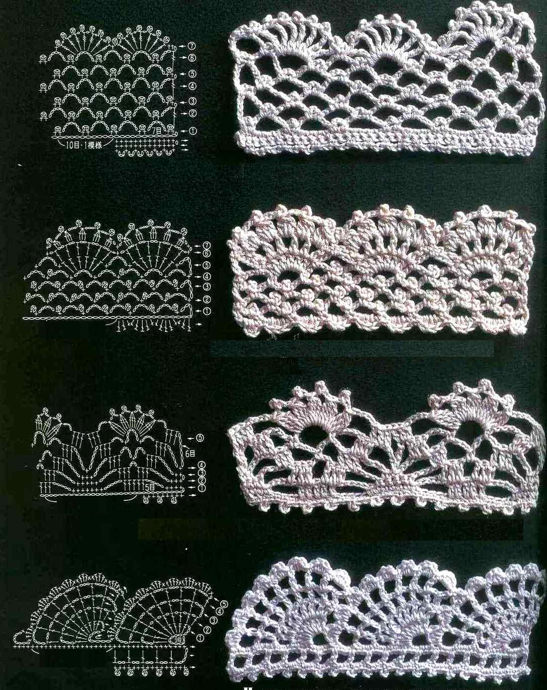 Crochet Lace Edging Free Pattern : ????????? ???????