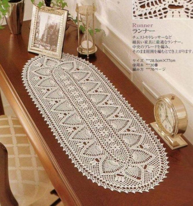 Большая овальная салфетка, с красивым ажурным рисунком вязаная по кругу крючком.  Потребуется для вязания салфетки...