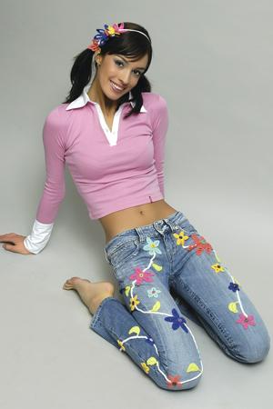 украсим джинсы