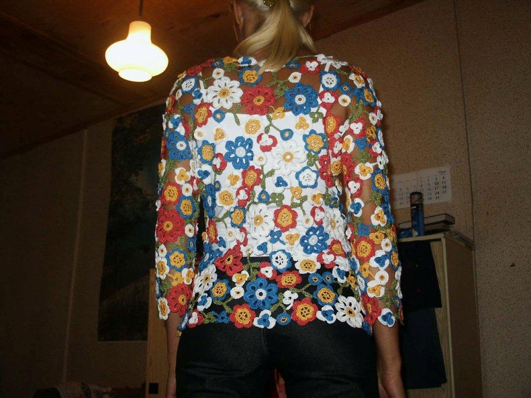 玫瑰花的编织技巧图解