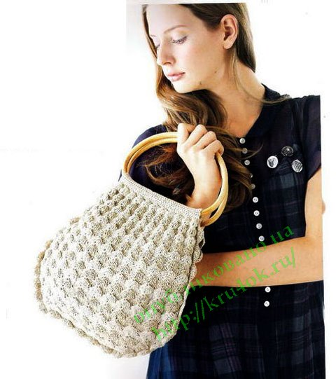 вязаная сумка