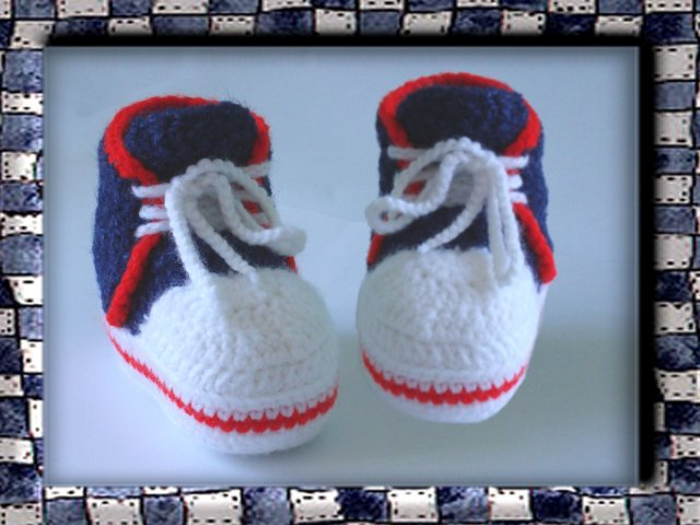 Блог.ру - grunja-vld - Мастер-класс по вязанию крючком: Вяжем носки.