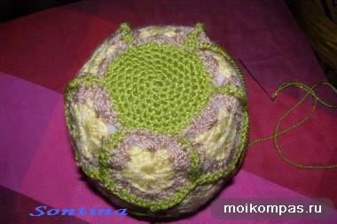 вязаный ананас