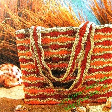 Вязание из полиэтилена. Ярмарка Мастеров