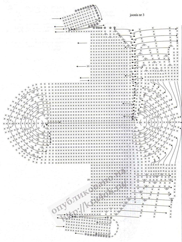 Схема вязания женск пиджака