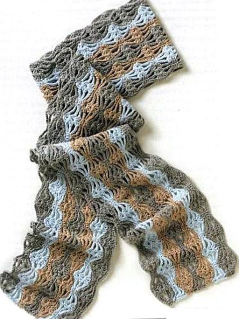 Комментарий: вязаные шарфы и необычные шапки.