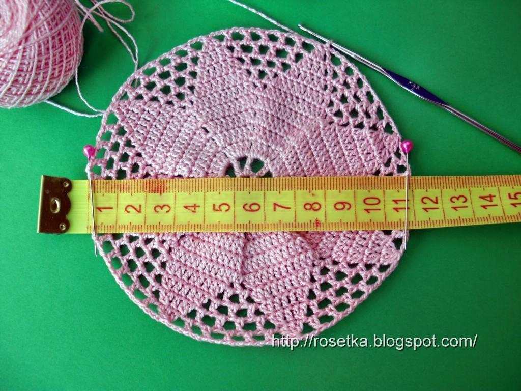 вязание крючком панамы