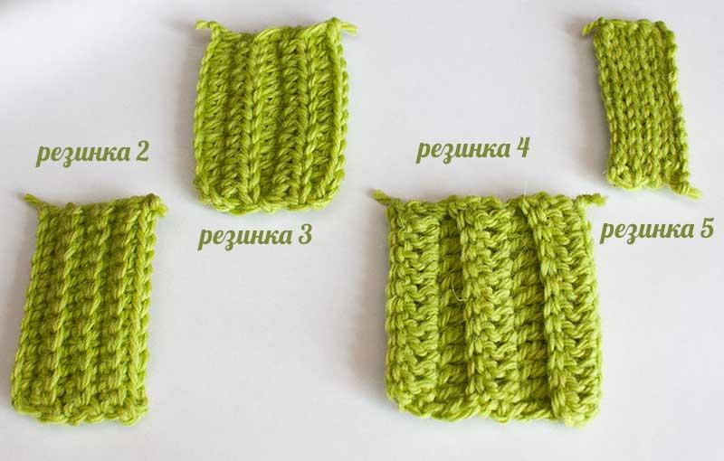 Виды вязания резинок с фото 945