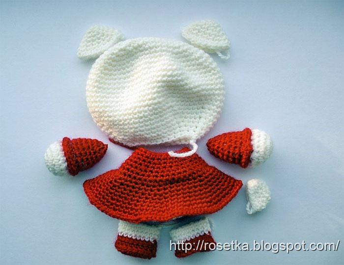 Китти игрушка вязание