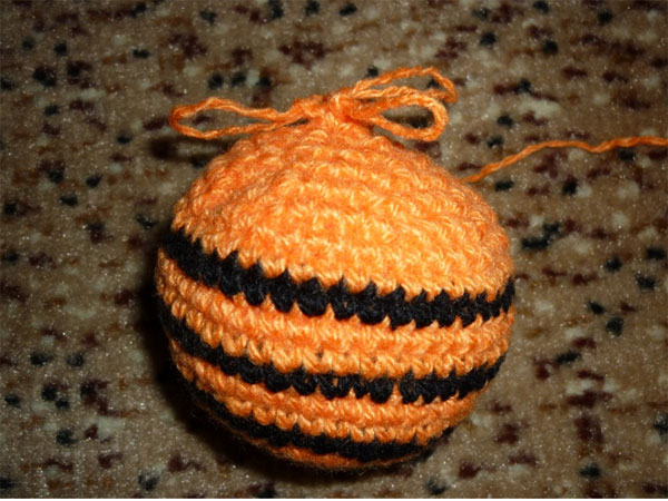 ёлочный шар своими руками