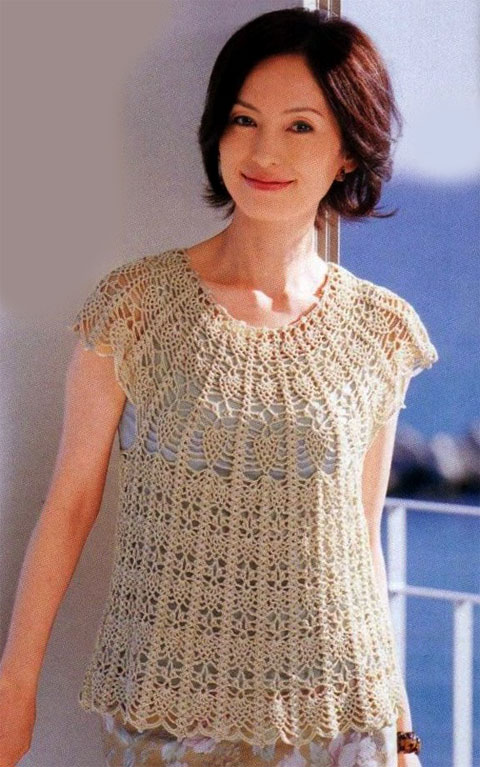 summer sweater crochet patterns