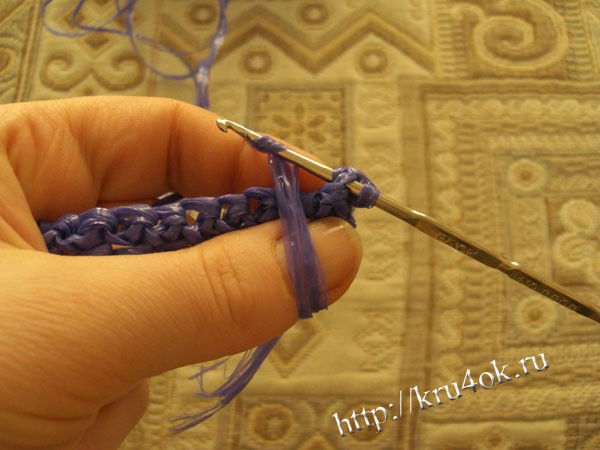 Вязание крючком мочалки. Мастер - класс!