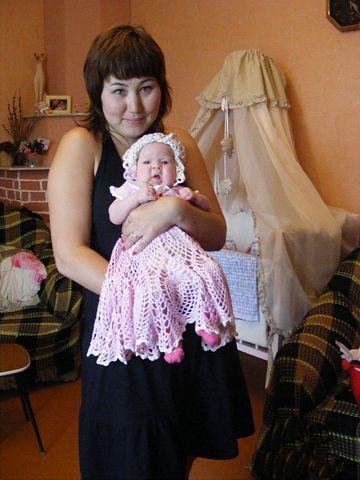 Детские платья, шапочки и сарафаны для девочки. Работы Анастасии Теленьга