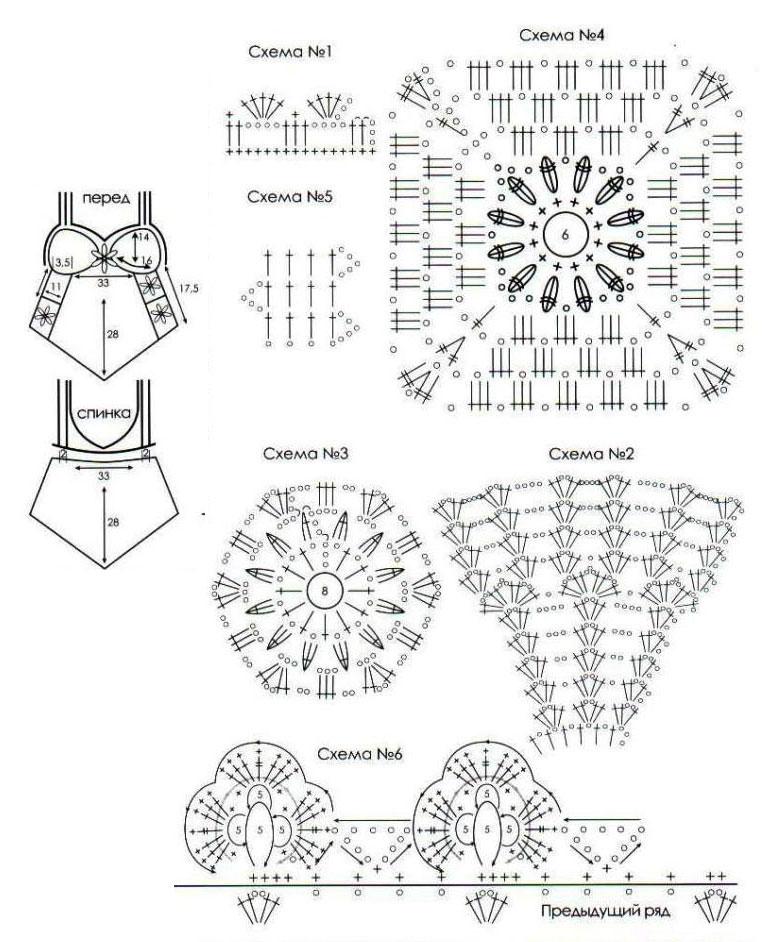 Вязание крючком модели и схемы 2016 фото