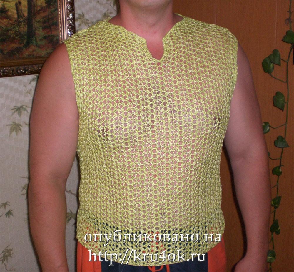 вязаные футболки мужчинам Erycobtacoun
