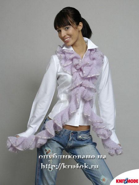 Как можно носить этот шарф: