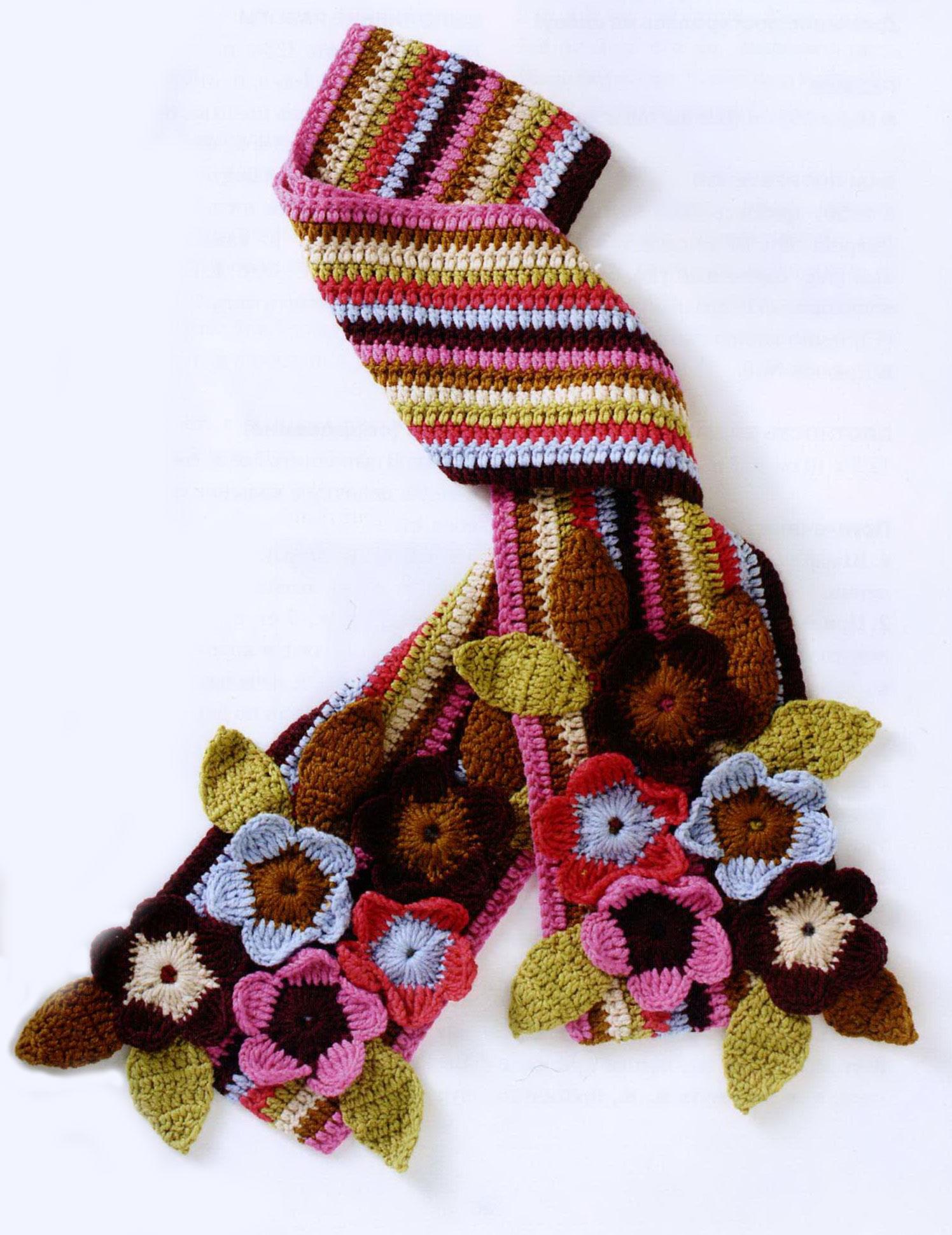 Стильный вязаный мужской шарф спицами схемы и 3