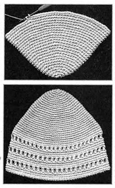 Как связать феску крючком