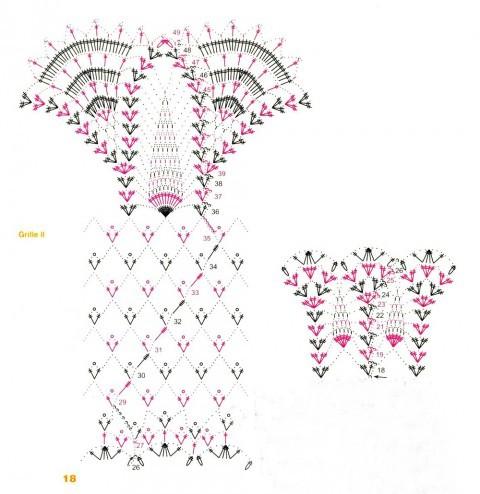 Схема вязание крючком рисунка