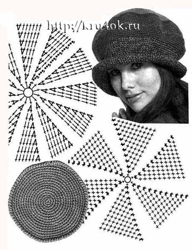 Крючок ру схемы шапок