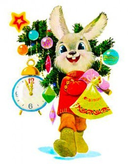 "Конкурс по вязанию ""Белый кролик"""
