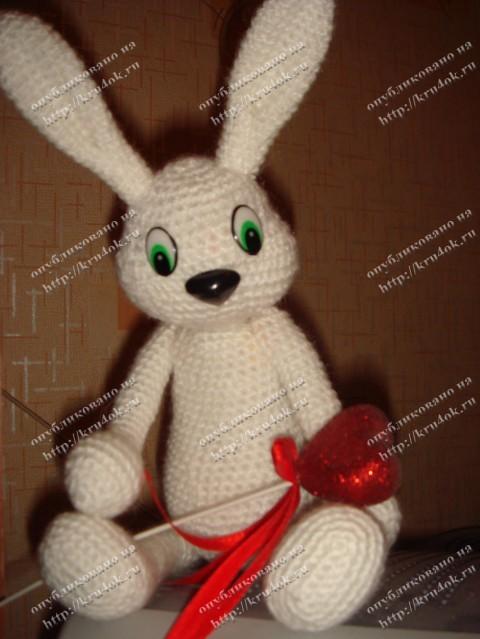 Белый заяц - работа Анны