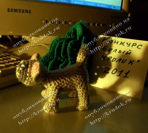 Игрушка Вязание крючком: Коты и кошки Нитки Дебют.
