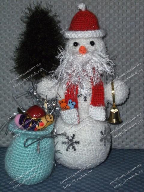 Снеговик для конкурса