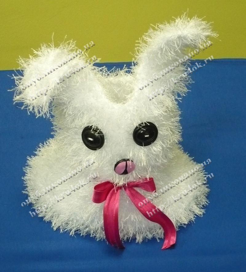 """Сумка для девочки  """"Белый кролик."""