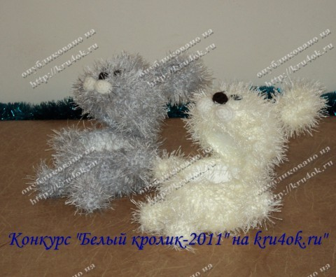Новогодний заяц-шкатулка