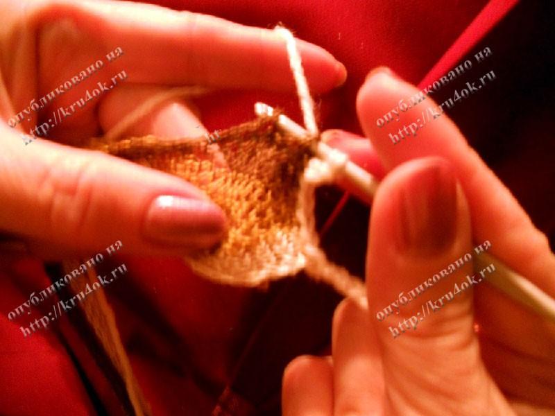 Мастер-класс вязание филейной сетки