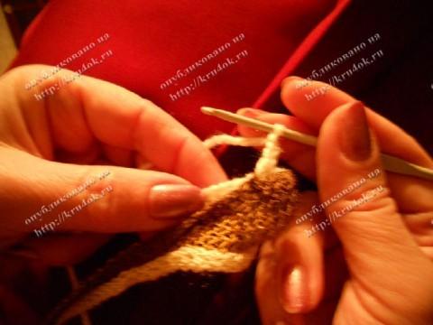 Мастер-класс по вязанию фасонной пряжей