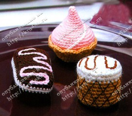 Вязанное пирожное..... Pirozhenoe1-270x238