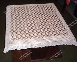 Вязание крючком скатерти