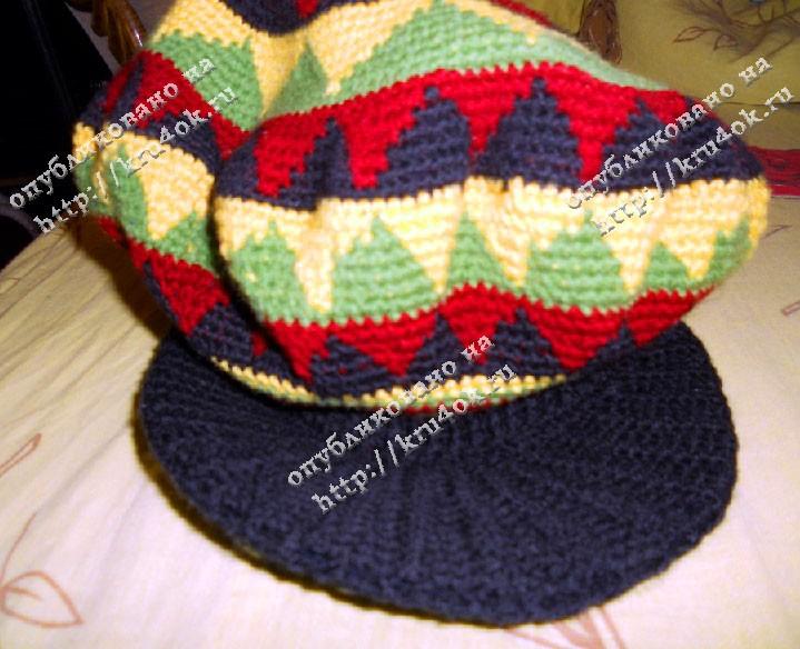 Вязание спицами для женщин ... схемы вязания шапок в виде.