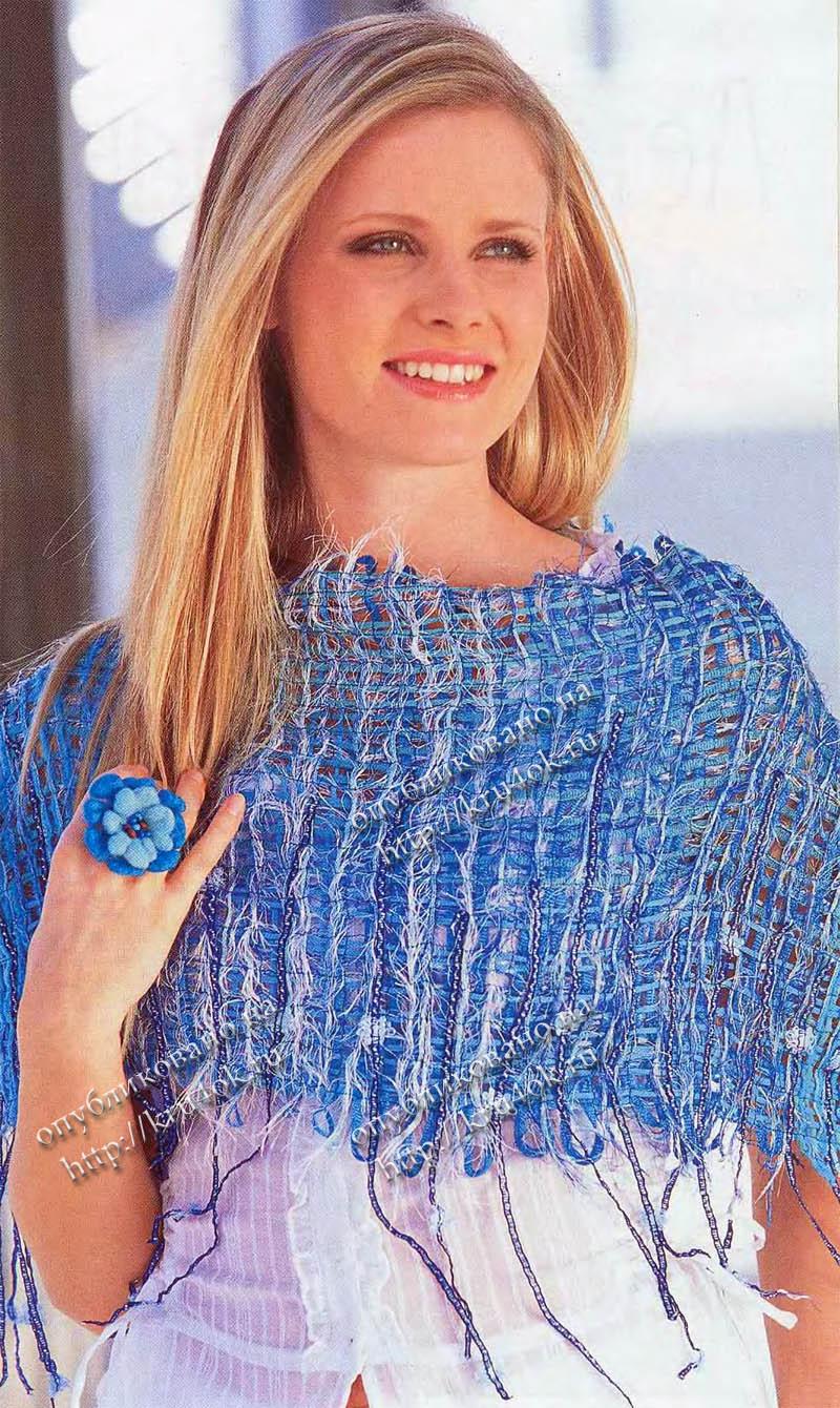 Вяжем ажурную кофту спицами для женщин