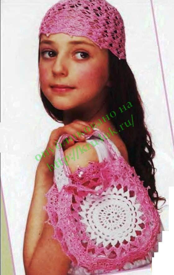 Вязание крючком панамки для девочек мастер класс