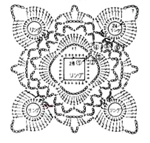 Узоры со схемами для вязания спицами