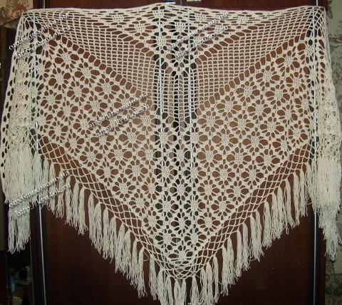 Вязание шалей