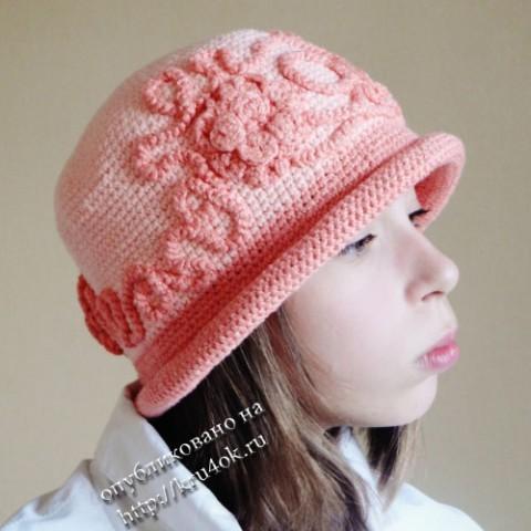 Летняя шляпа для девочки