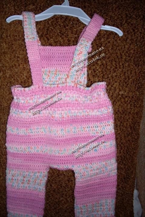модели вязаных костюмов для новорожденных