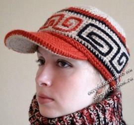 Описание: Каталог вязаных шапок.  Схемы, узоры.