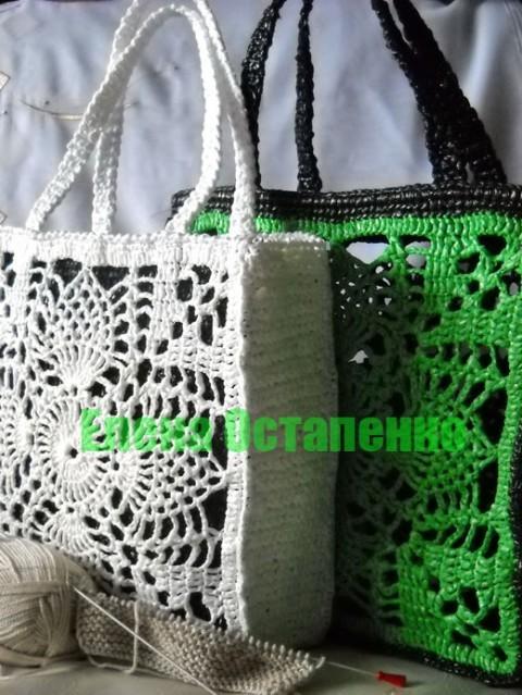 Теги: вязание вязание крючком сумка вязаная сумка крючком сумка из...