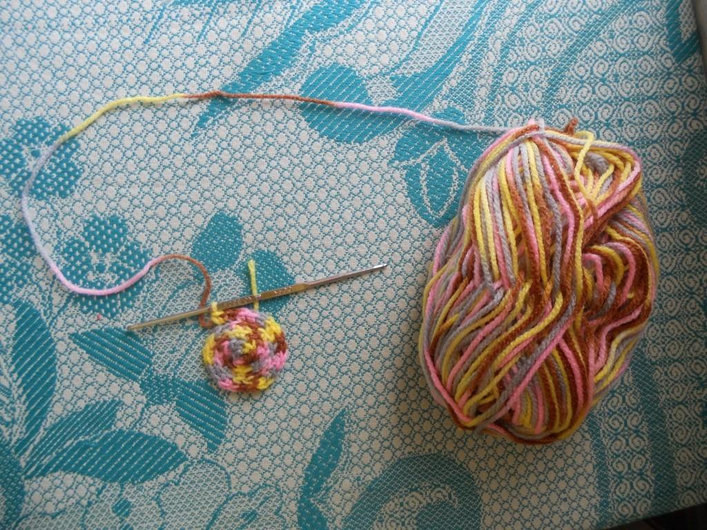 Вязание носков крючком.
